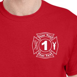 Personalized Maltese Cross T-Shirt