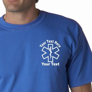 Personalized Star Of Life T-Shirt
