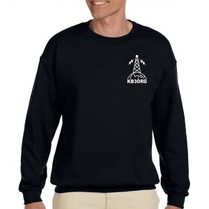 Personalized Amateur Radio Antenna Sweatshirt